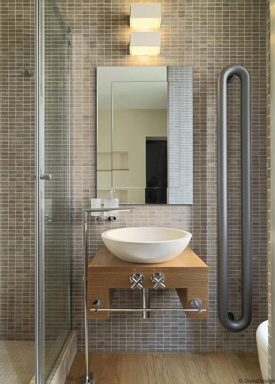 Nowoczesne Lustro Do łazienki Moderns Sq