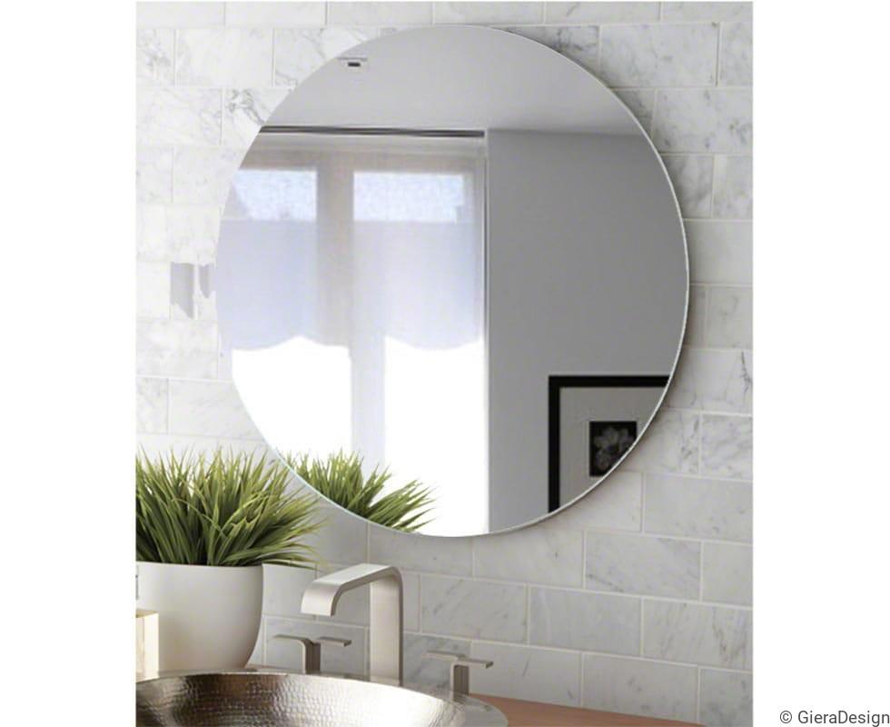Lustro Okrągłe Super Białe