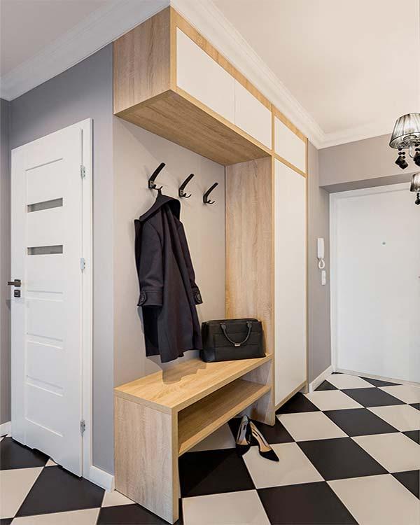 Wspaniały Aranżacje przedpokoju, czyli jak urządzić korytarz | GieraDesign AP27