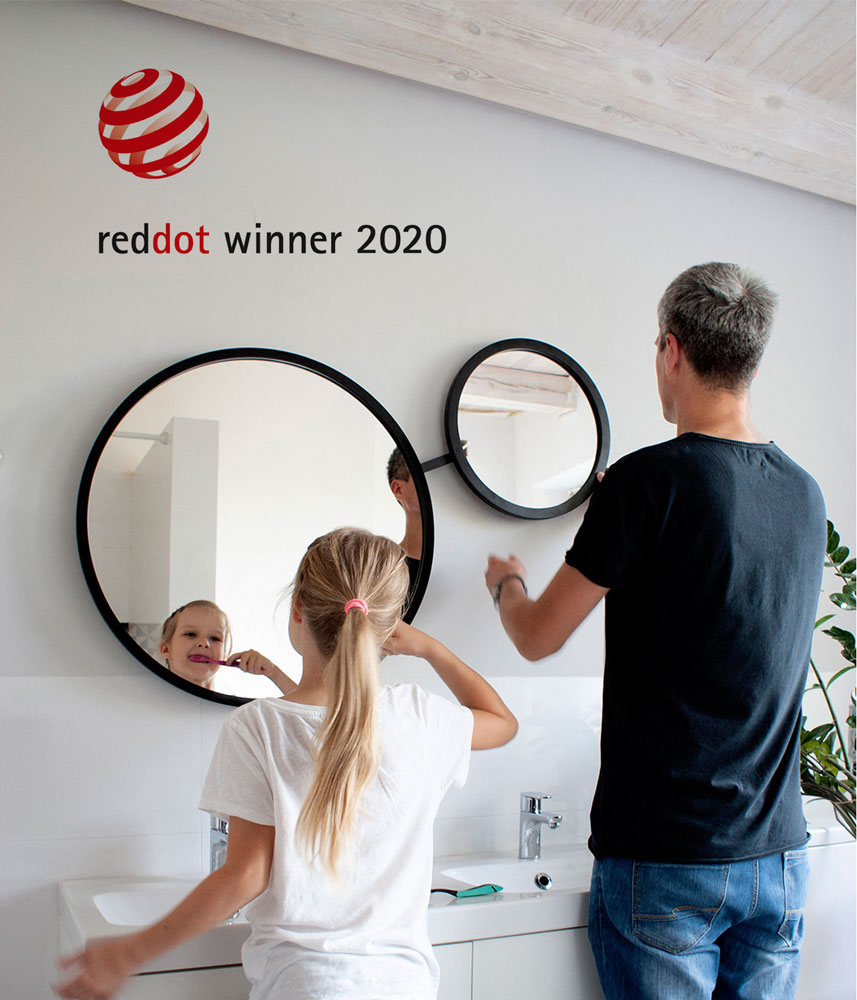 Nagroda Red Dot 2020 dla lustra Scandi DUO