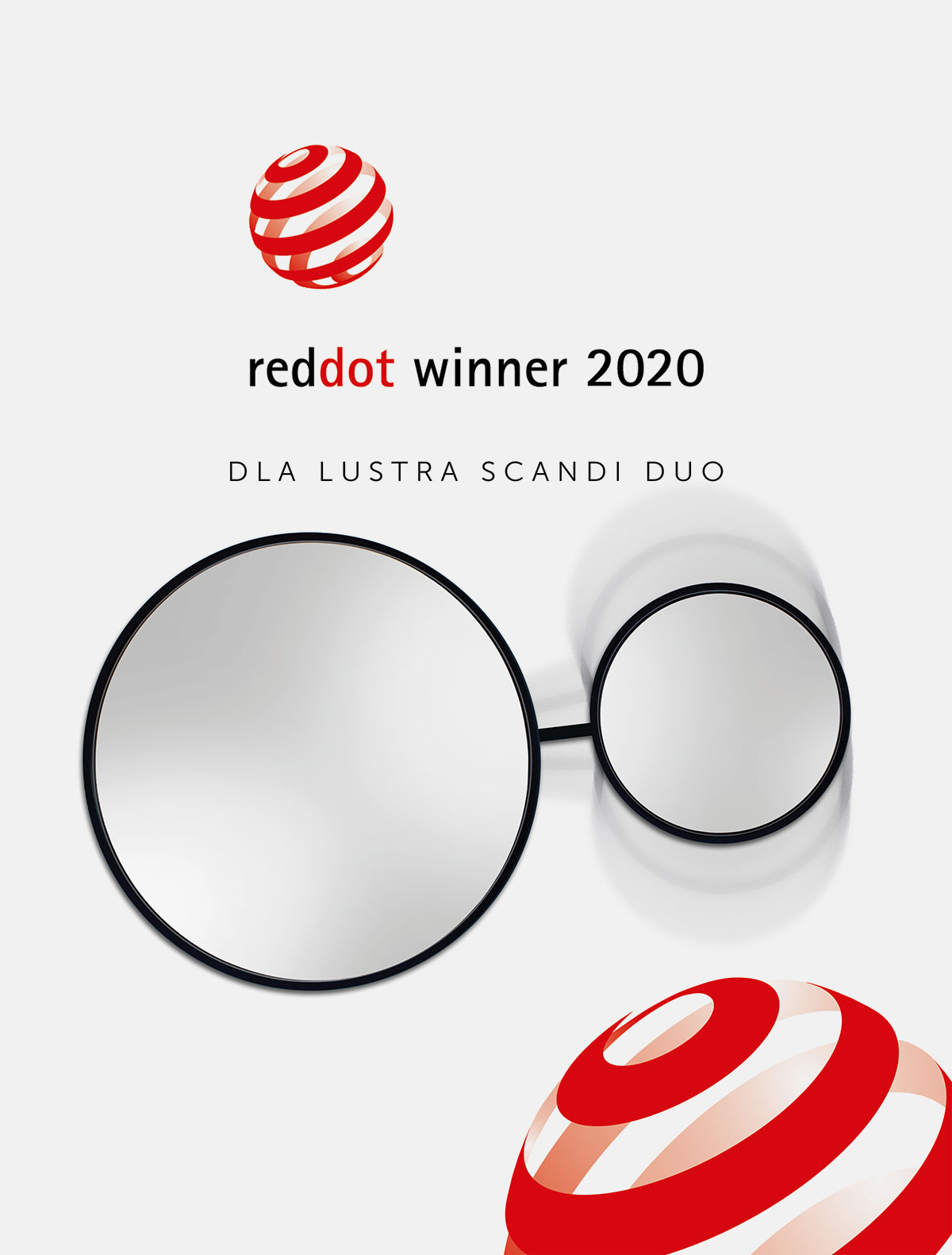 Red Dot 2020 dla GieraDesign za lustro Scandi DUO!